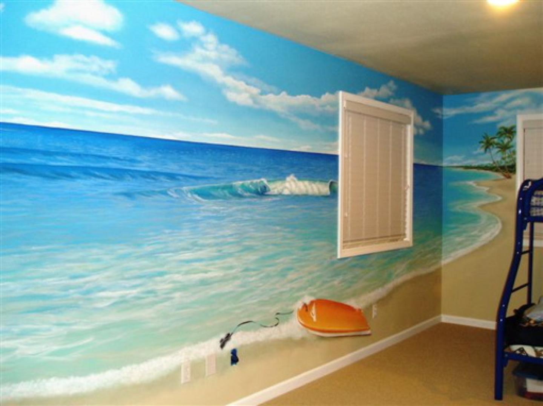 48+ Beach Themed Wallpaper for Bathroom on WallpaperSafari