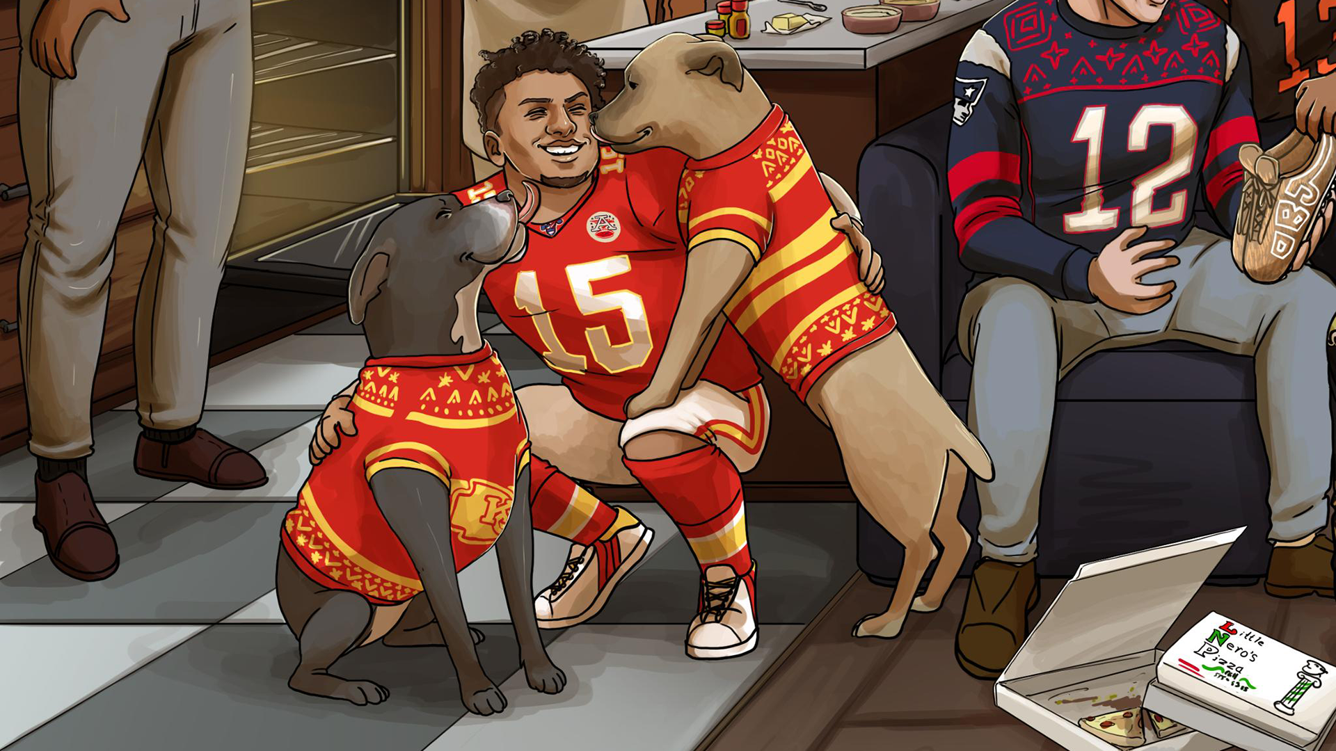 Does this NFL Christmas graphic predict that the 49ers and the 1920x1080