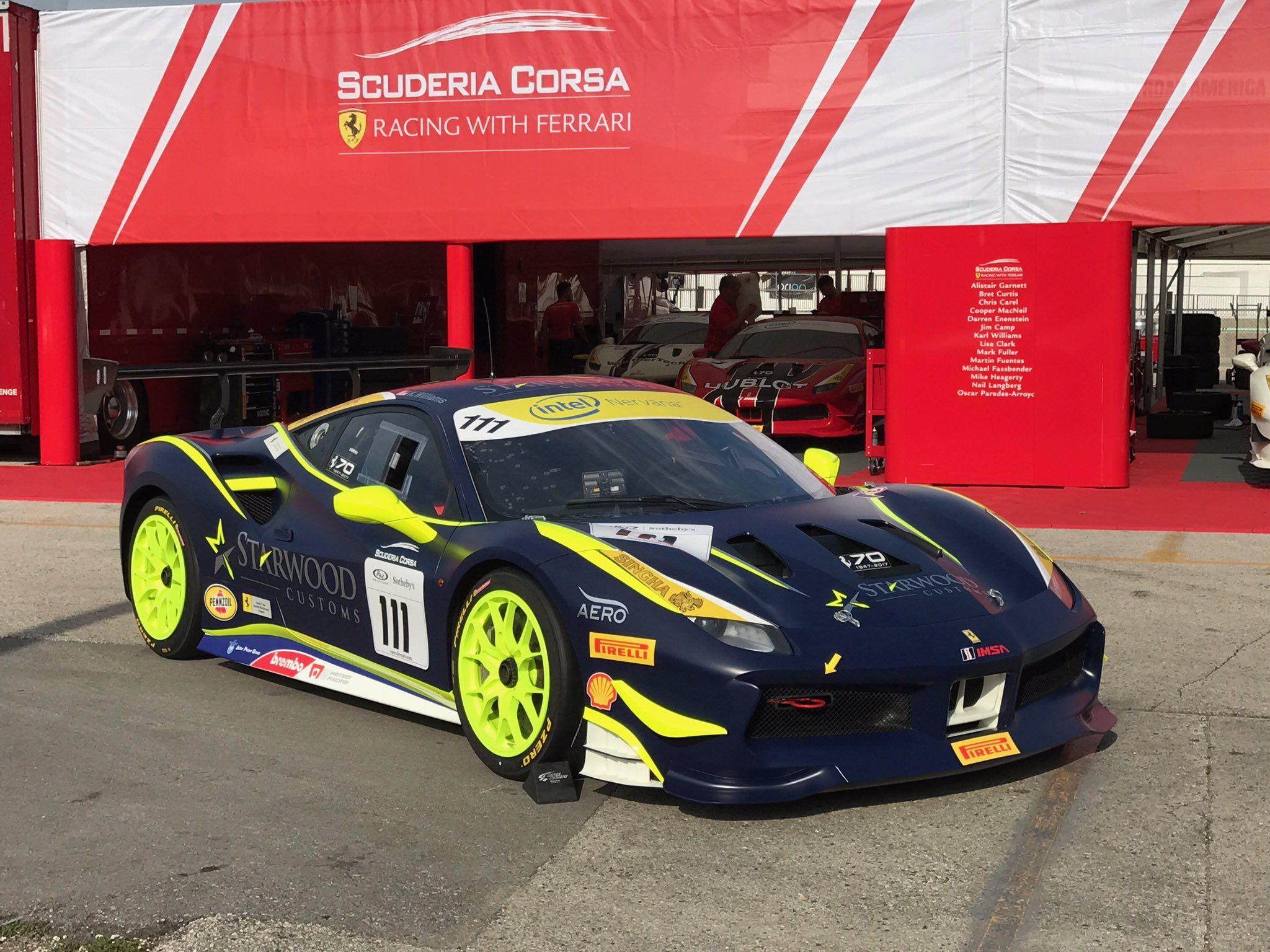 Ferrari 488 Challenge Ferrari Ferrari 488 Racing 2048x1536