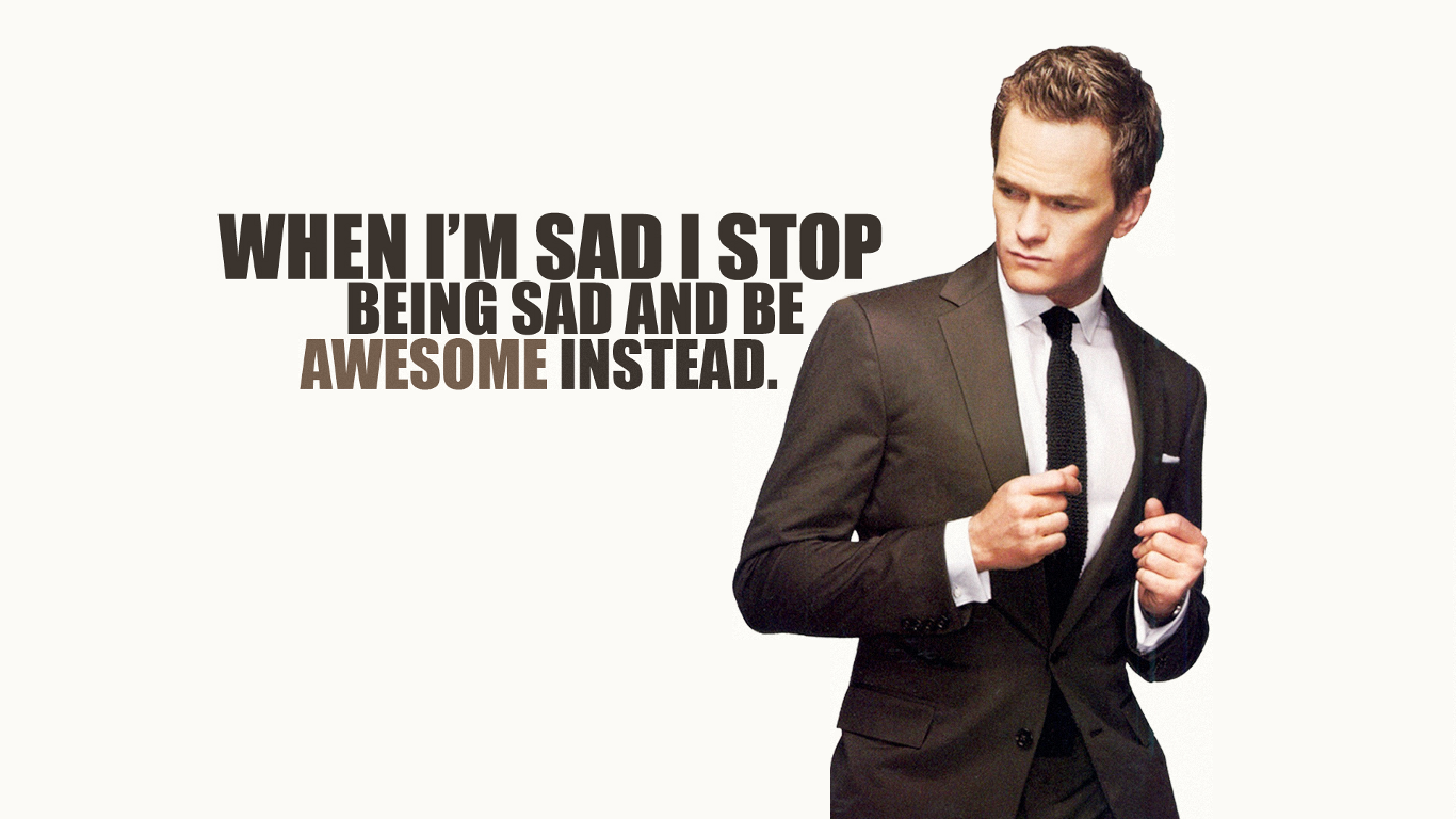 How I Met Your Mother Wallpaper LOLd Wallpaper   Funny Pictures 1366x768