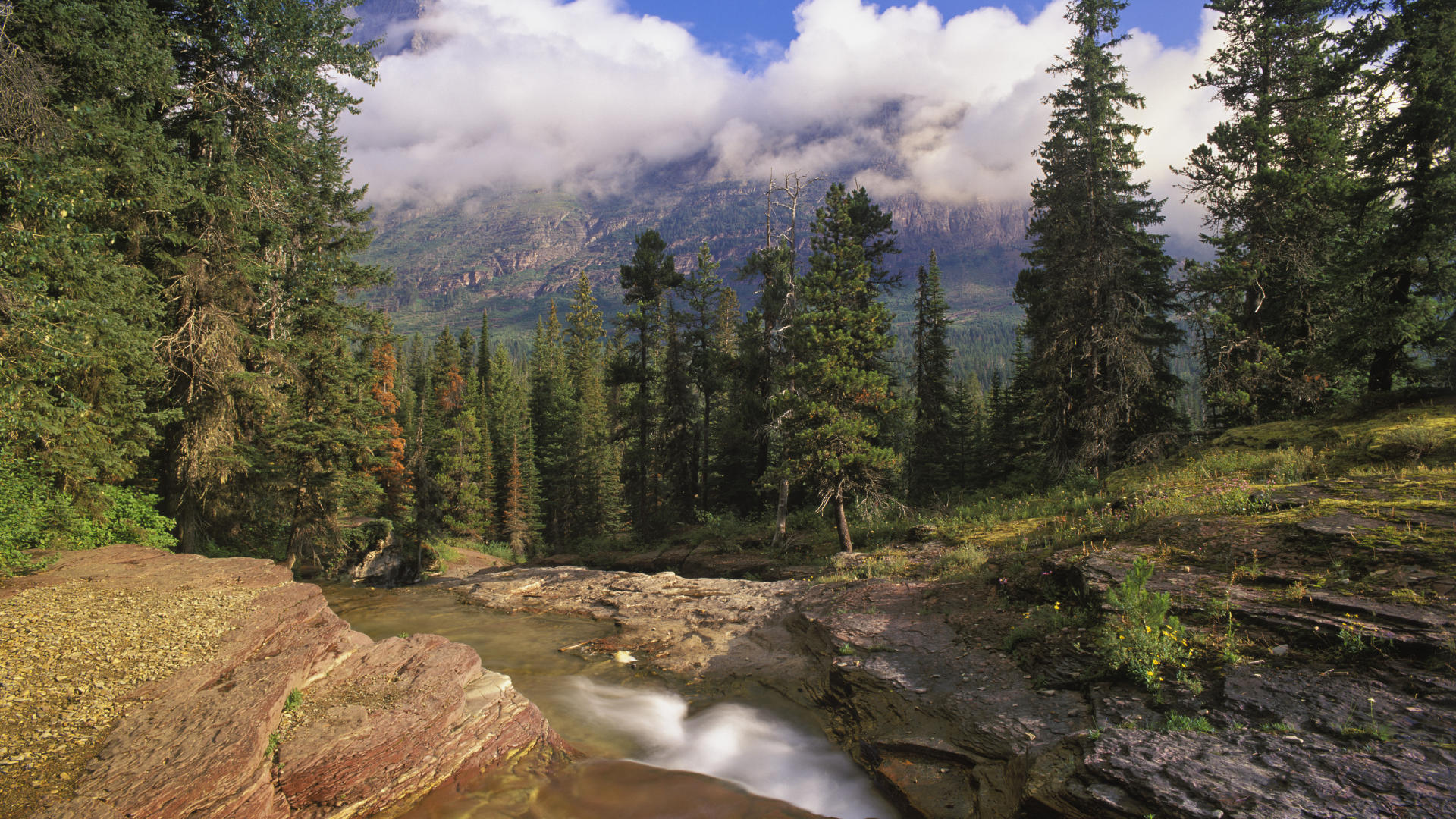 montana cool backgrounds national background glacier mountain 1920x1080