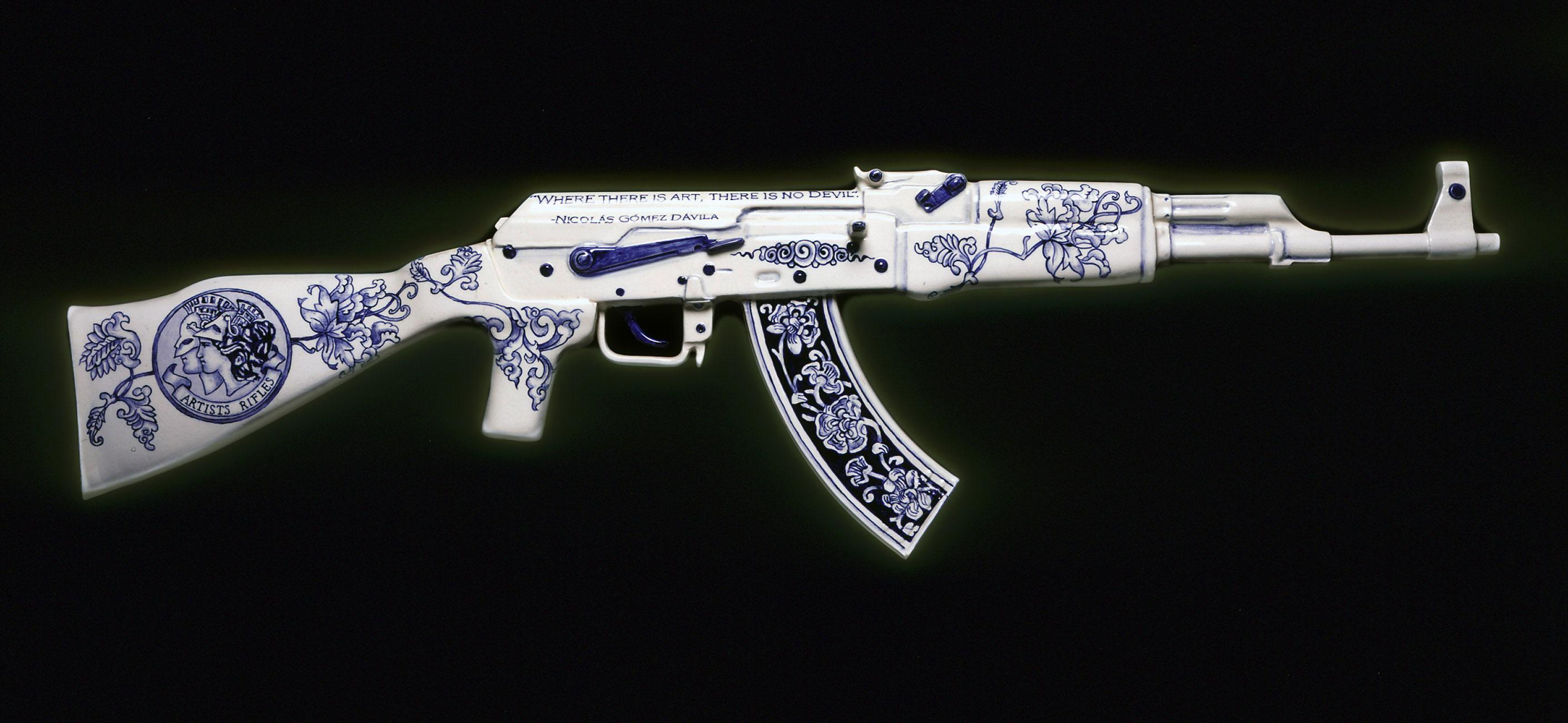 Guns Ak 47 Shapes 2820x1301
