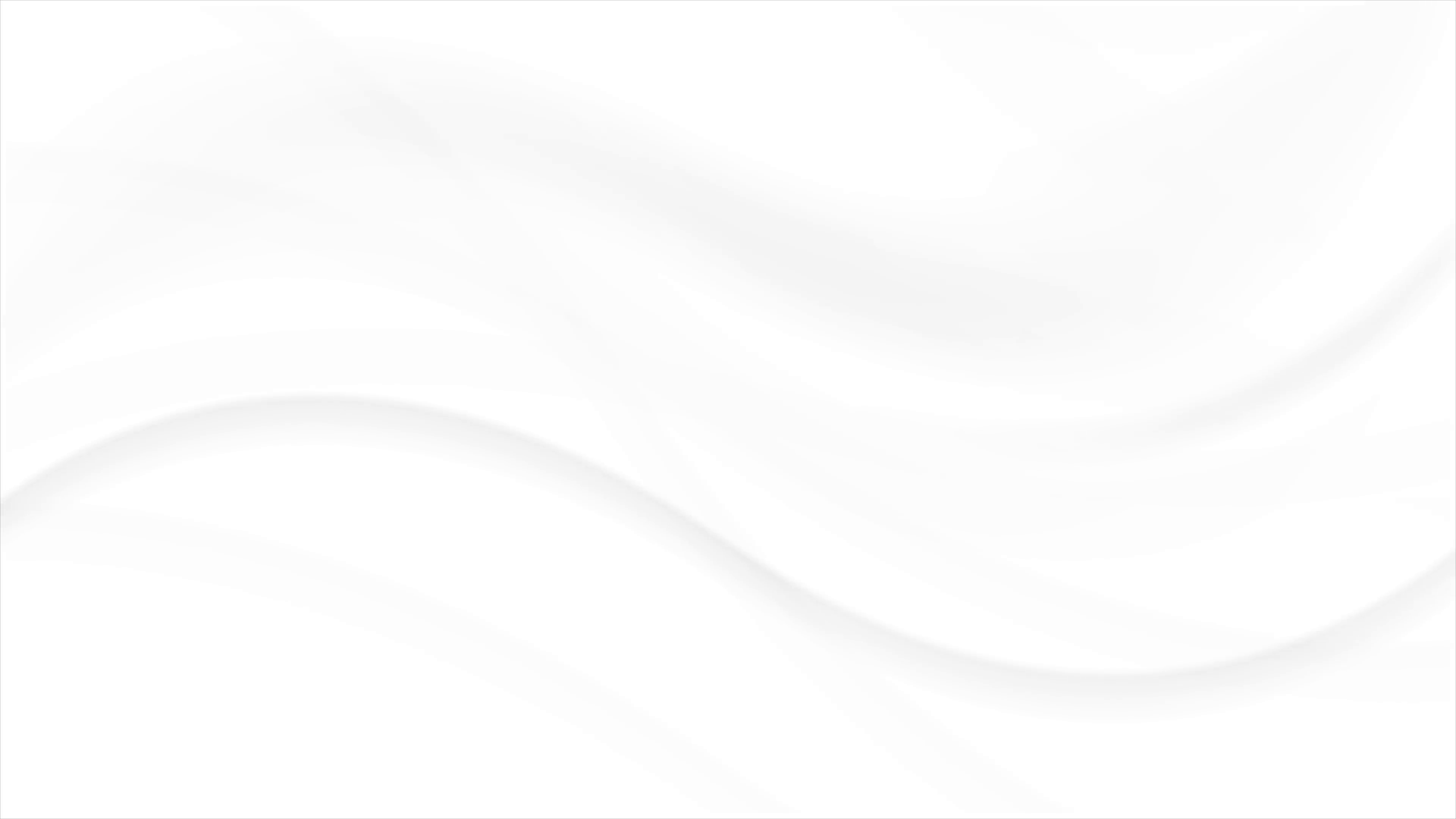 White abstract flowing wavy motion background Video animation 3840x2160
