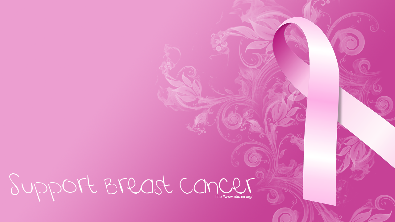 Breast Cancer Awareness Backgrounds 1280x720