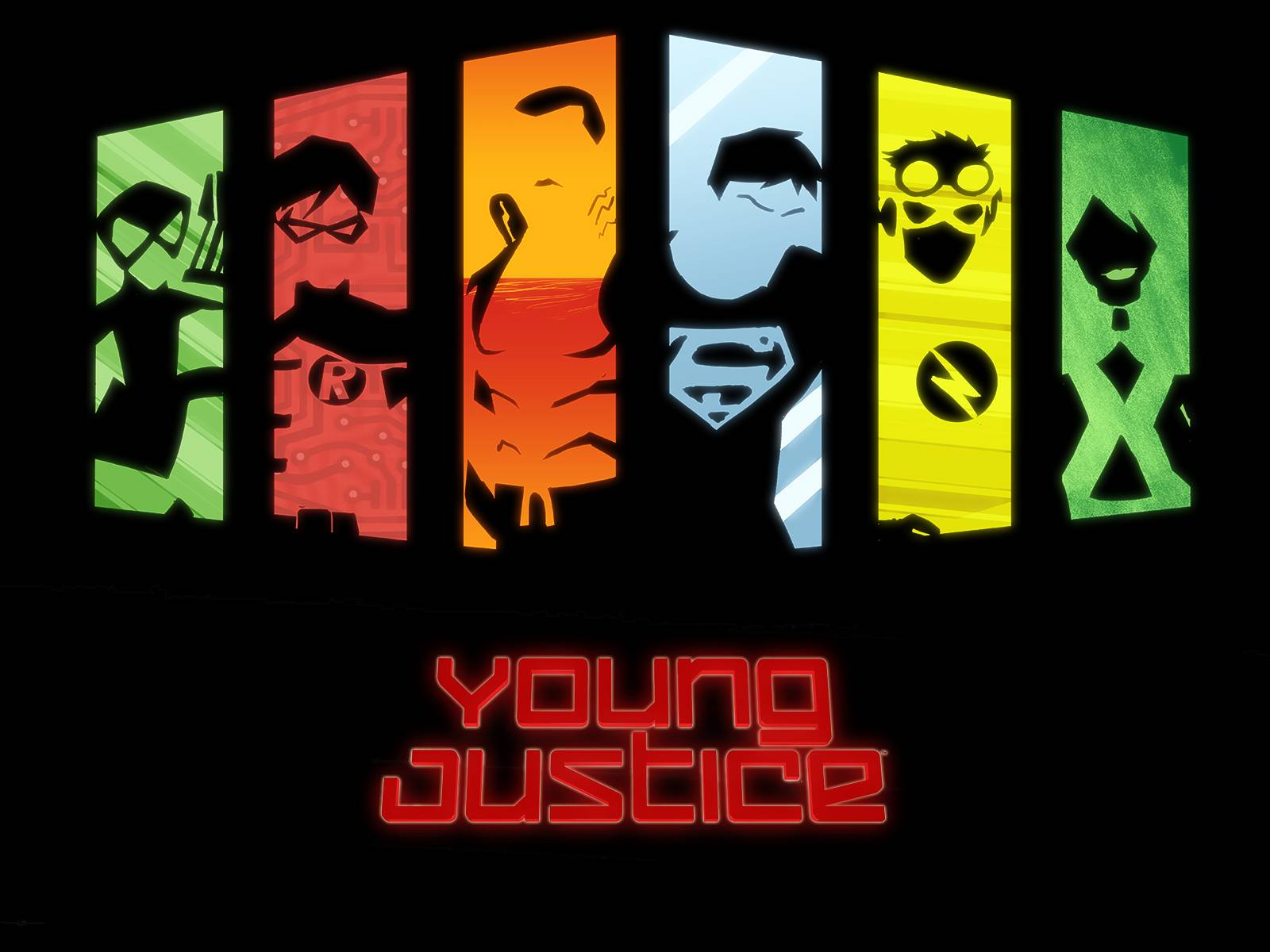 Original 6   Young Justice Wallpaper 1600x1200