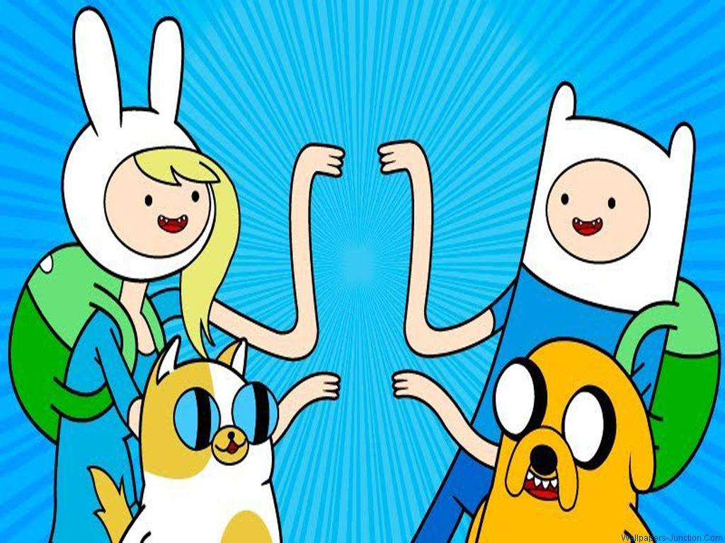 Time   Adventure Time With Finn and Jake Wallpaper 33906415 1024x768