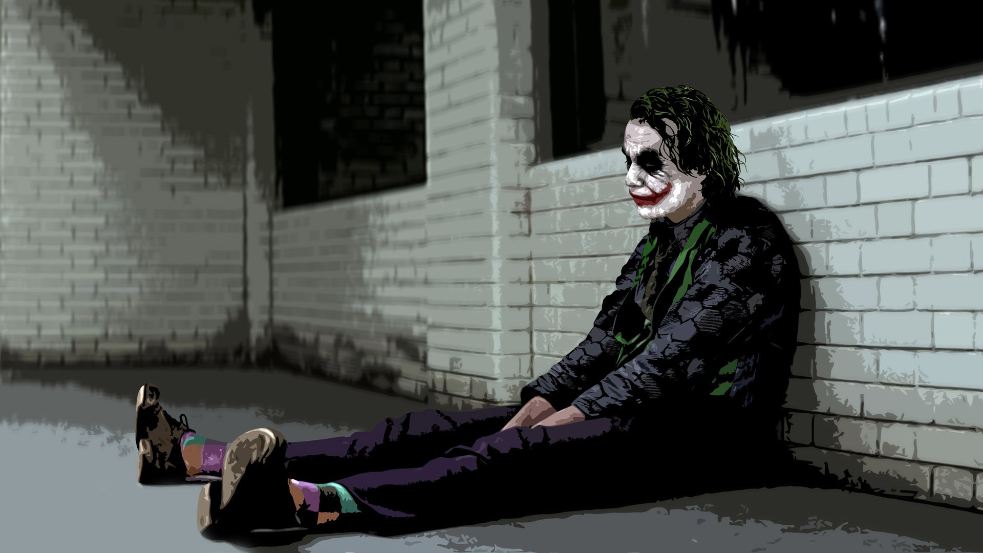 The Joker   The Dark Knight wallpaper 11288 1920x1080