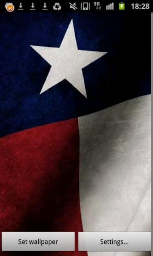 Texas Flag Wallpaper For Iphone Texas state flag livewallpaper 307x512