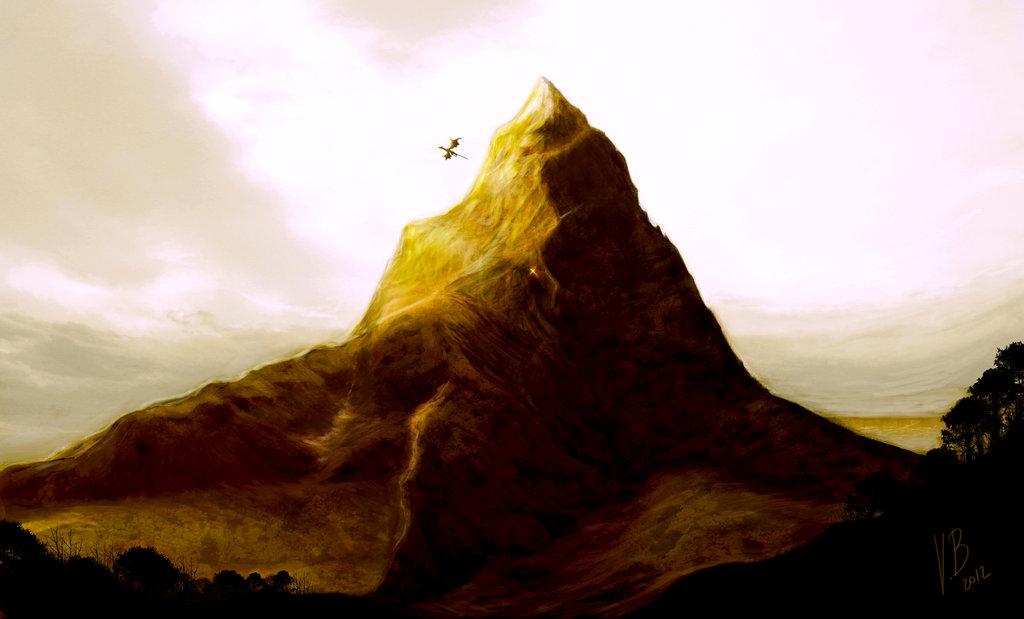 Erebor Wallpaper Erebor lonely mountain by 1024x619