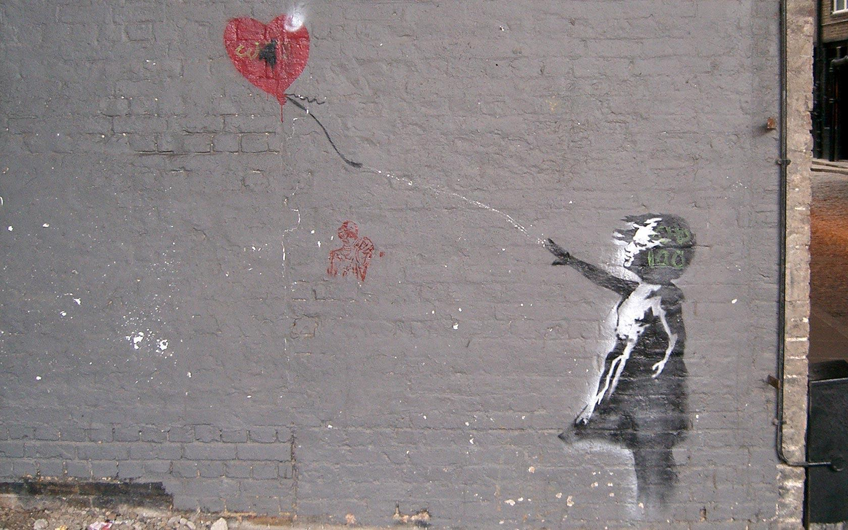 Banksy Hd Wallpaper: Banksy Backgrounds