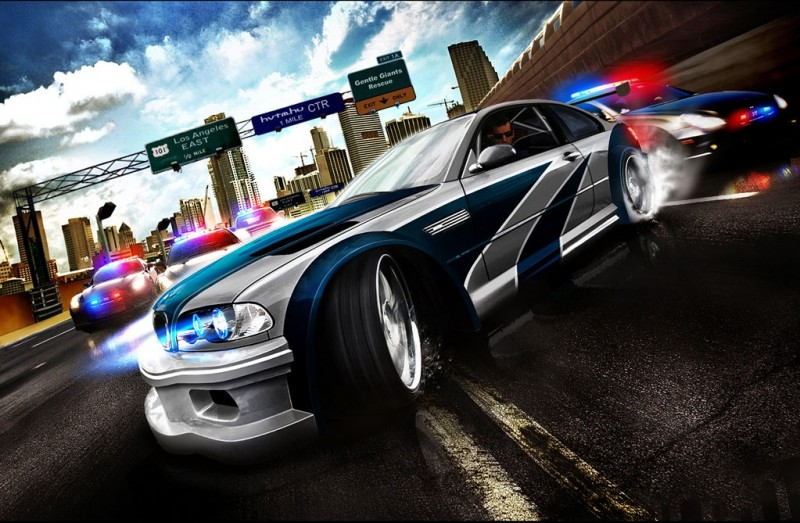 Need For Speed Most Wanted Wallpaper   RocketDockcom 800x523