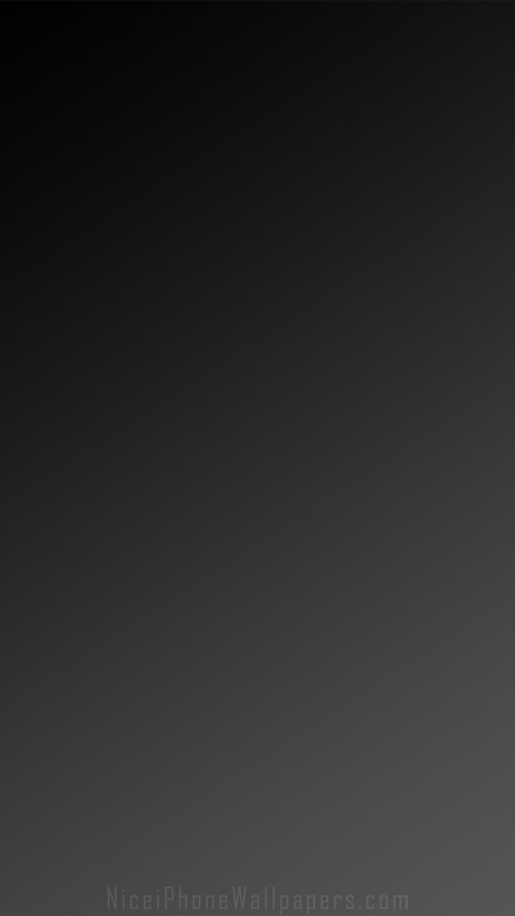 Blackdark grey gradient iPhone 66 plus wallpaper and background 750x1334
