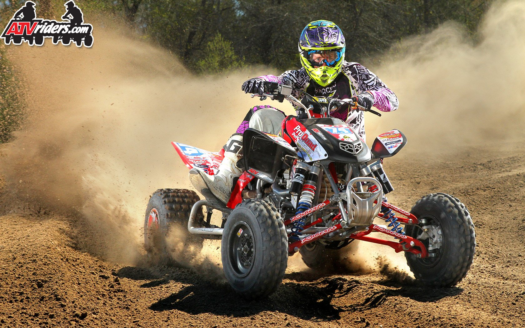 Kyle Fix   Honda 450R ATV   Wallpaper 1680x1050