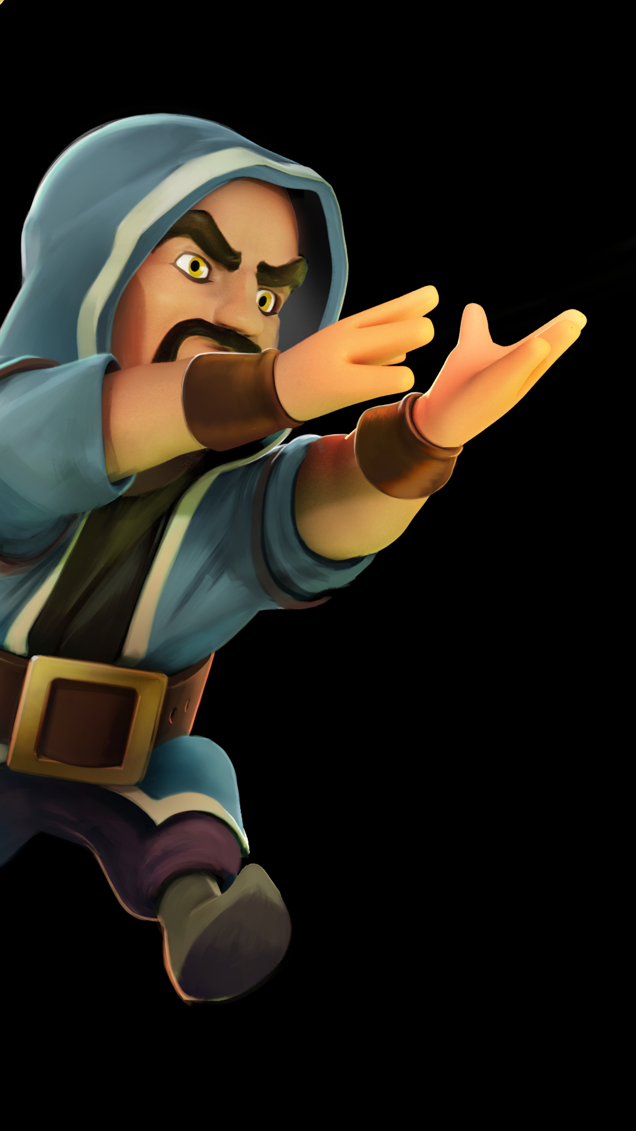 Clash of Clans Wizard Images Full HD Pictures 1242x2208