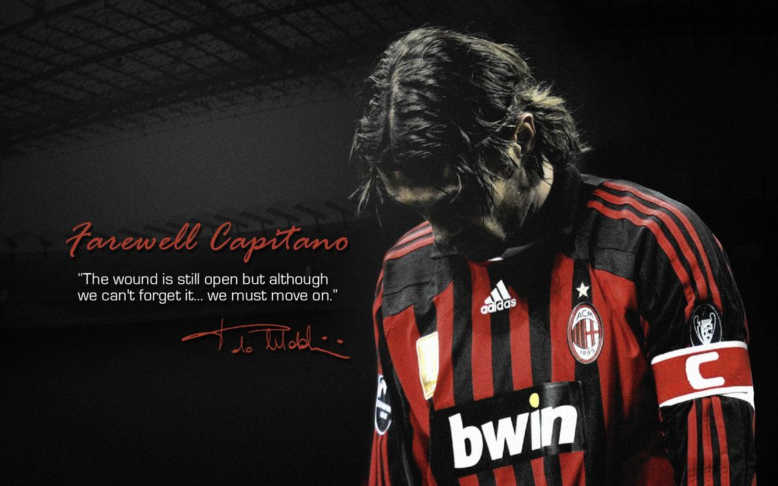 Maldini AC Milan Milan wallpaper Ac milan Paolo maldini 1131x707