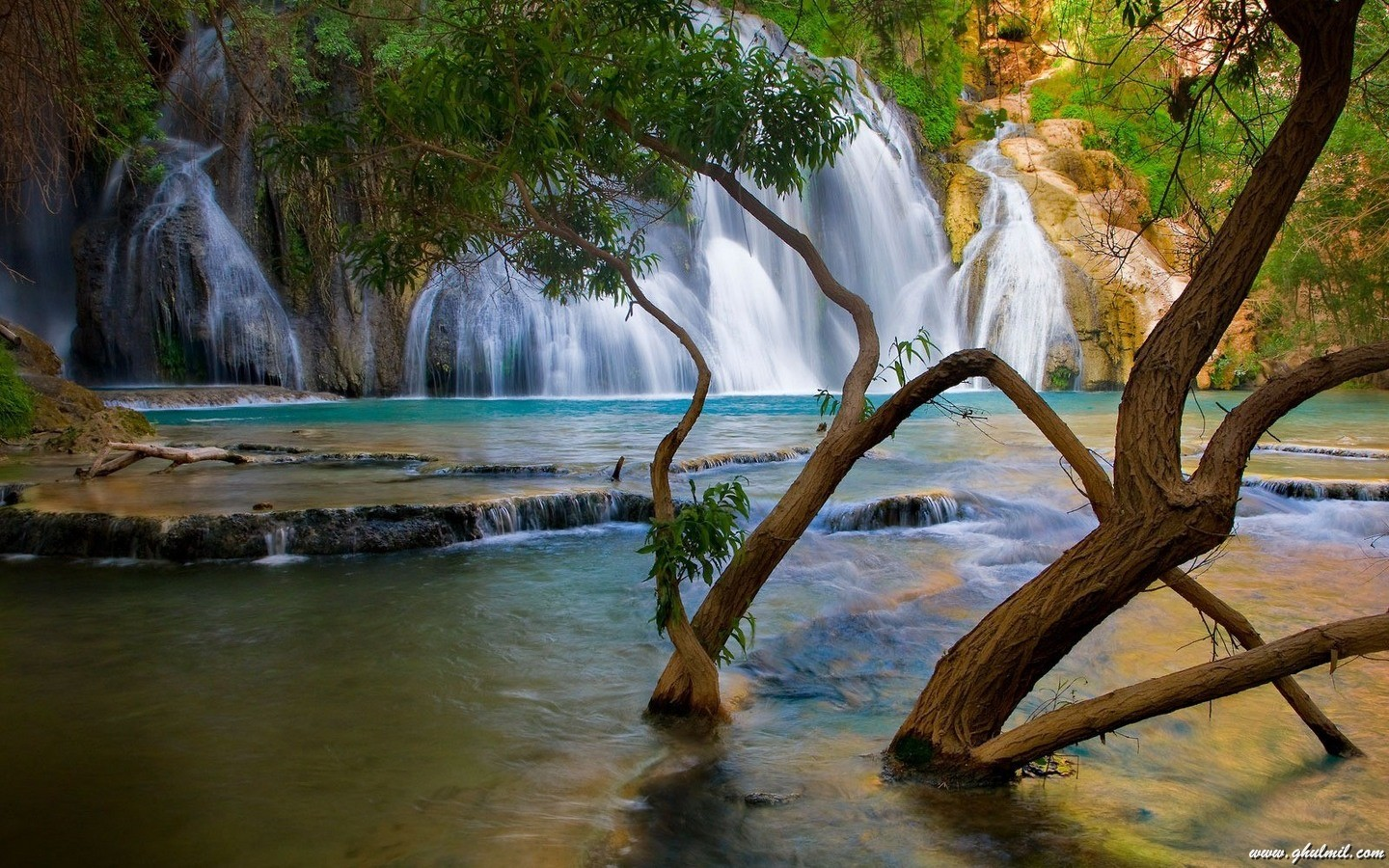 Beautiful Natural Lake View Desktop Wallpaper E Entertainment 1440x900