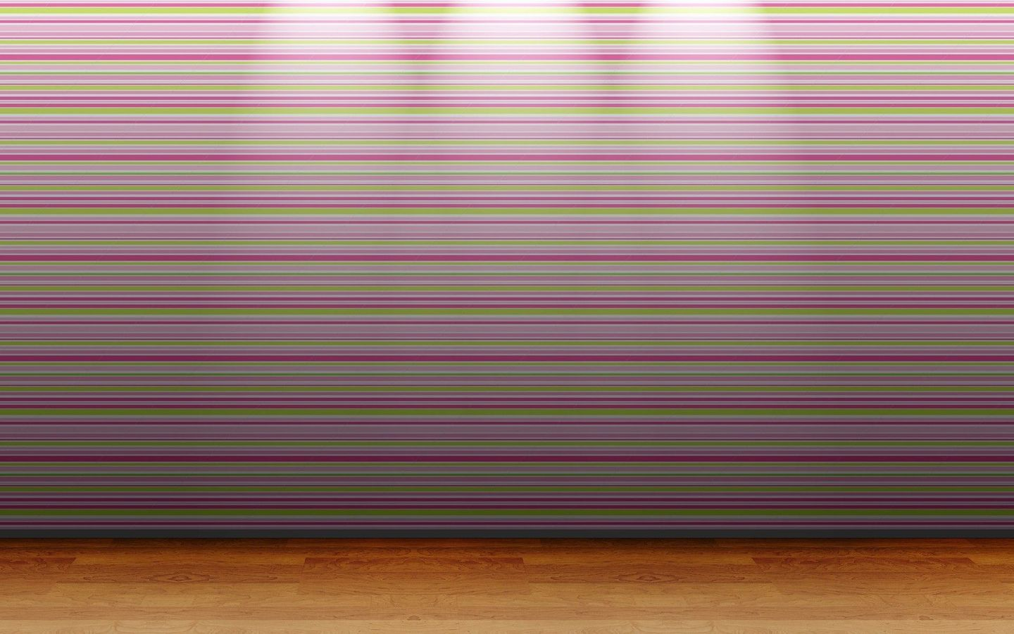 Pink wall stripes and wood floor Widescreen Wallpaper   6140 1440x900