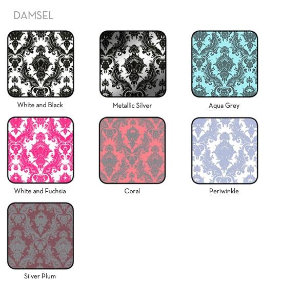 damask removable wallpaper Boudoir Pinterest 550x550