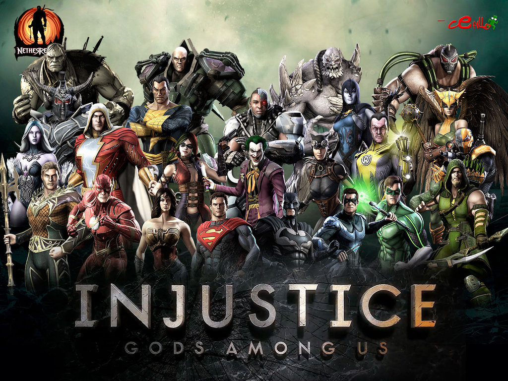 injustice gods among us wallpaper by cepillo16 d62b0rgjpg 1024x768