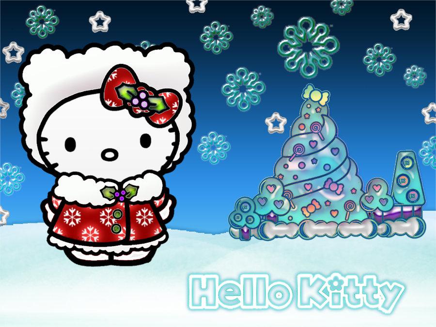 Hello Kitty Christmas.75 Hello Kitty Christmas Wallpapers On Wallpapersafari