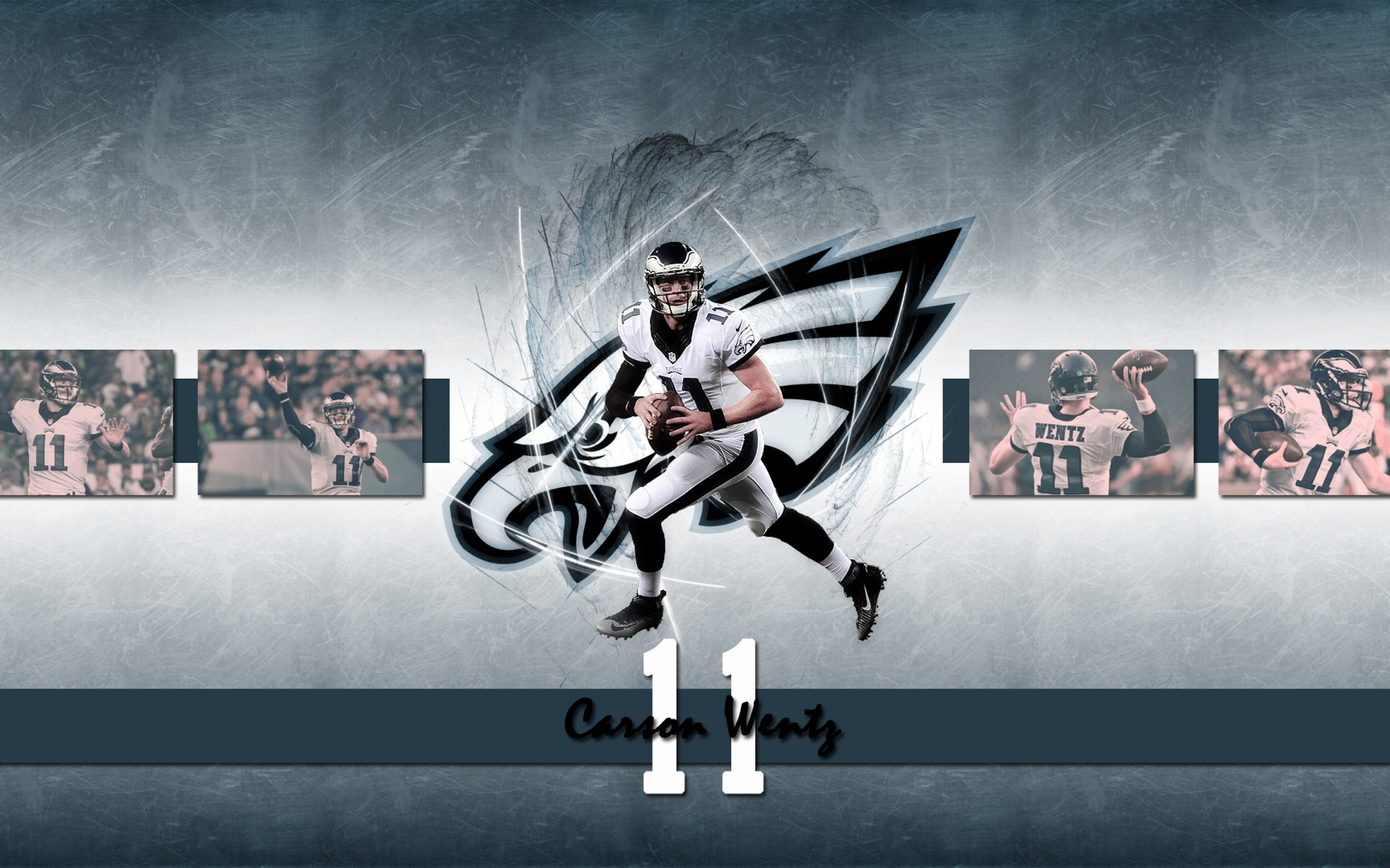 Download 2880x1800 Carson Wentz American Football Wallpapers for 2880x1800