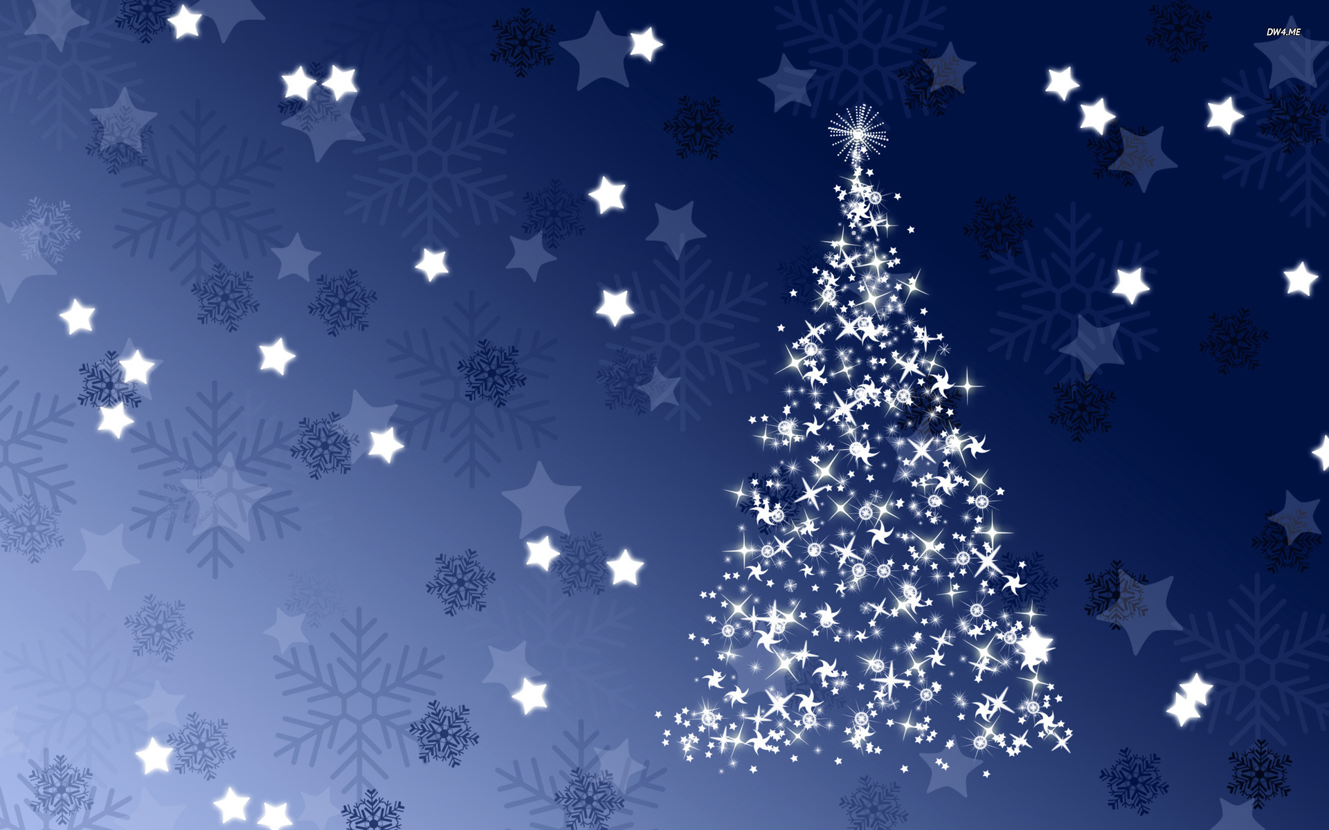 Sparkling blue Christmas tree wallpaper   Holiday wallpapers   2047 1920x1200