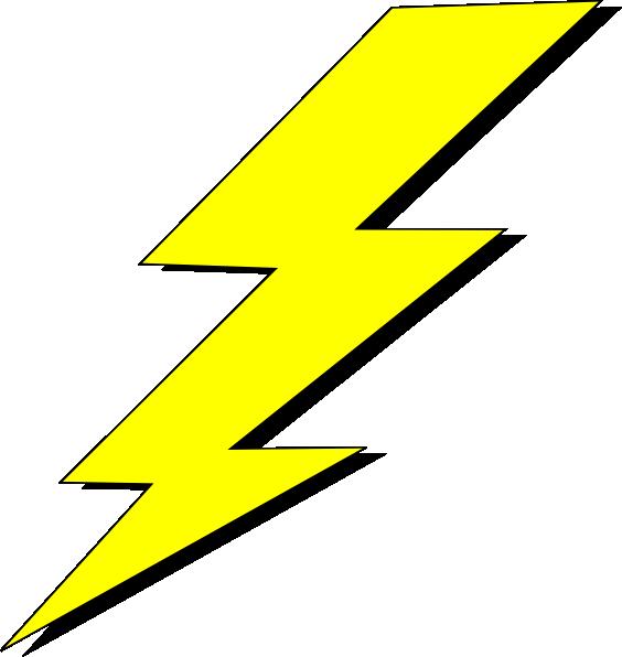 Lightning Bolt Transparent Background Clip Art 564x596