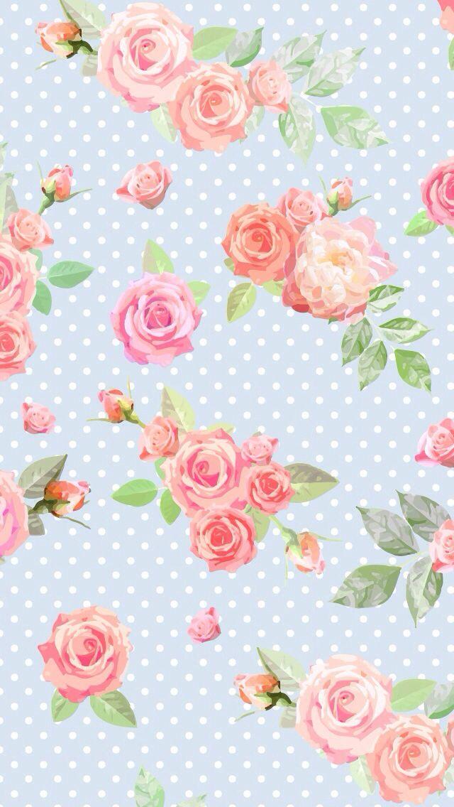 50+ Vintage Flower Wallpaper for iPhone on WallpaperSafari