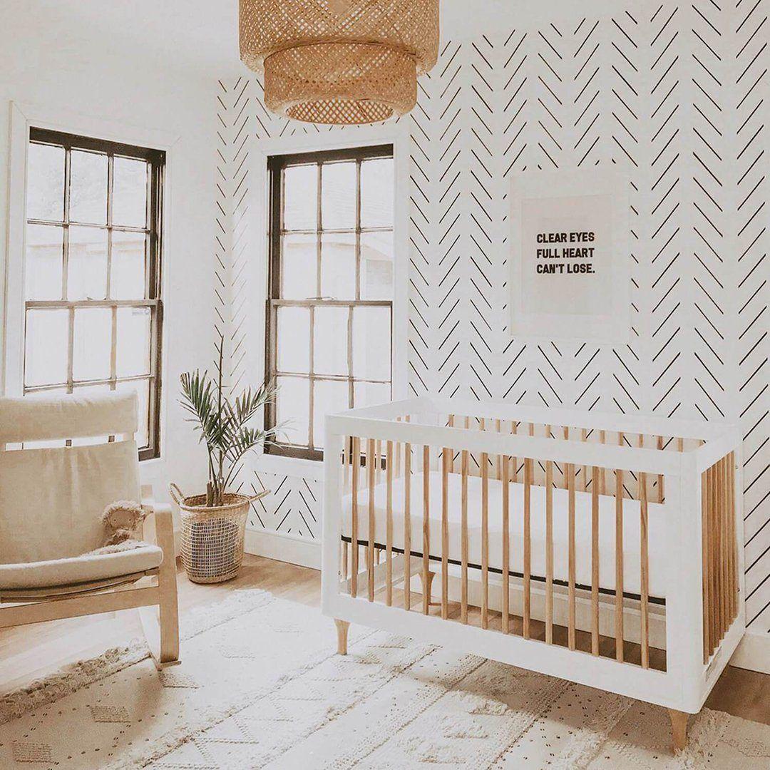 Black Delicate Herringbone Wallpaper in 2021 Kids room wallpaper 1080x1080