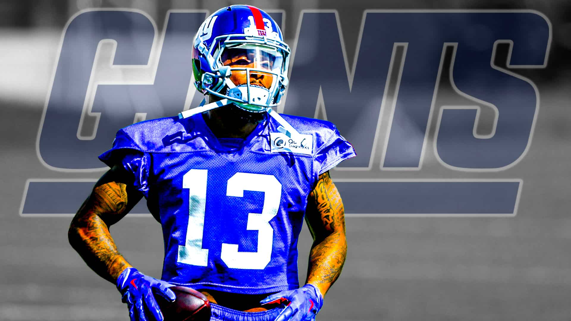 New York Giants WR Odell Beckham Jr handled minicamp perfectly 1920x1080