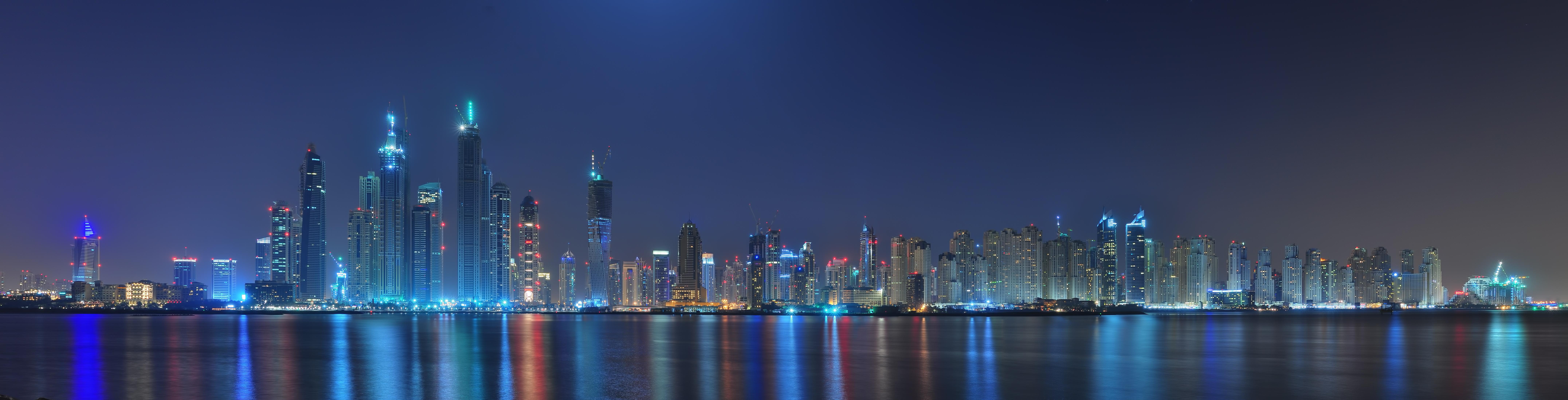 Night Sky Clouds City