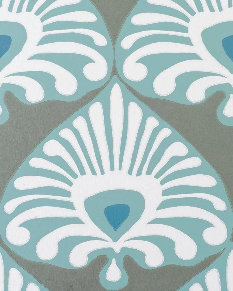 Palmetto Wallpaper by Serena Lily 800x1000
