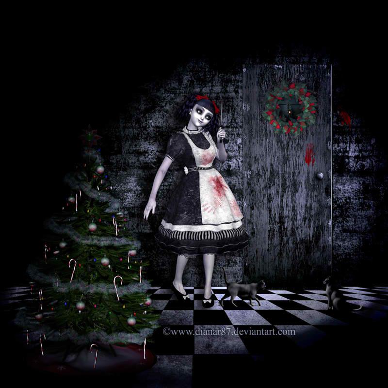 Gothic Christmas Wallpaper