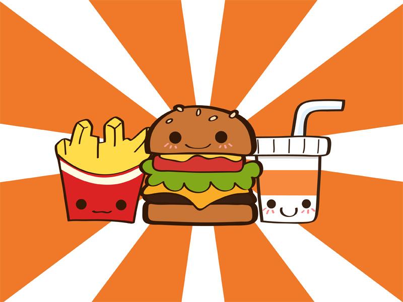 junk food wallpaper by Yume fran 800x600