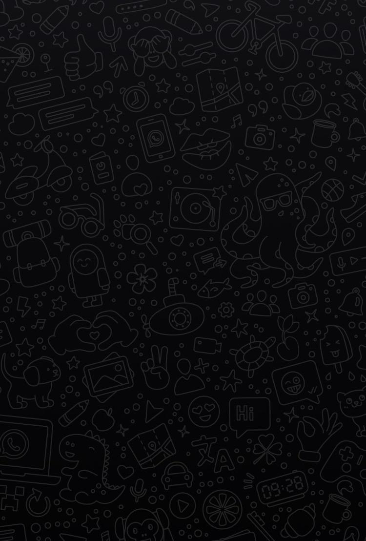 In celebration of WhatsApps dark mode Wallpaper gelap 750x1108