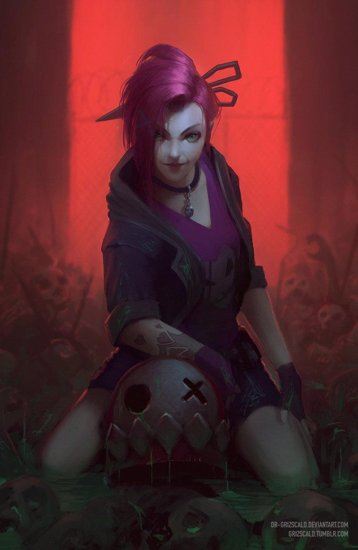 Slayer Jinx by dr grizscald 721x1109