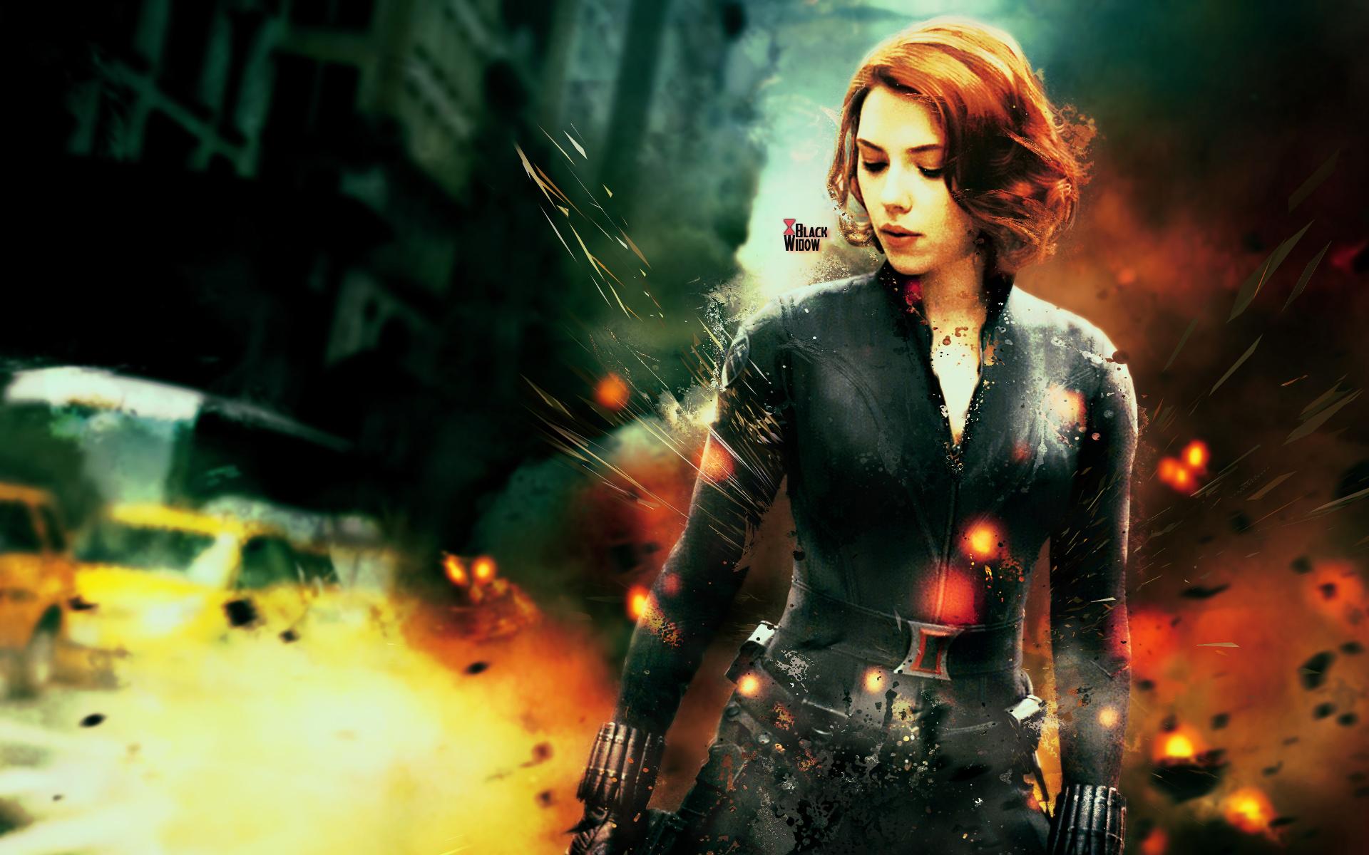 The Avengers Black Widow Wallpaper by The Potara Fusion 1920x1200