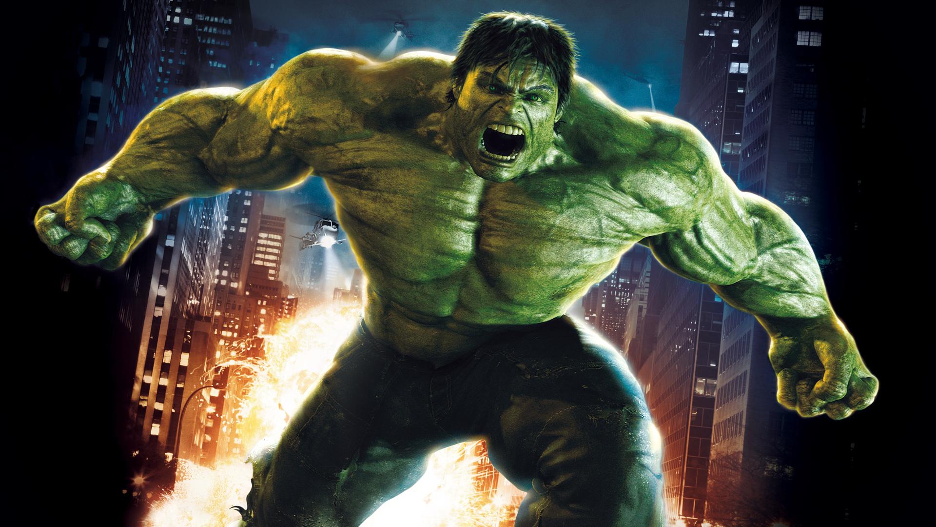 The Incredible Hulk Green HD Wallpaper 1920x1080