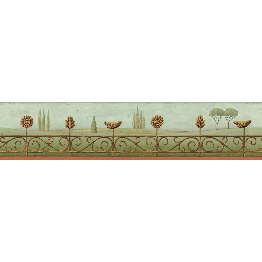 Shop IMPERIAL 4 Landscape Prepasted Wallpaper Border at Lowescom 900x900