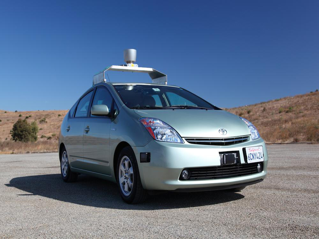 the google driverless car is a project by google that involves 1024x768