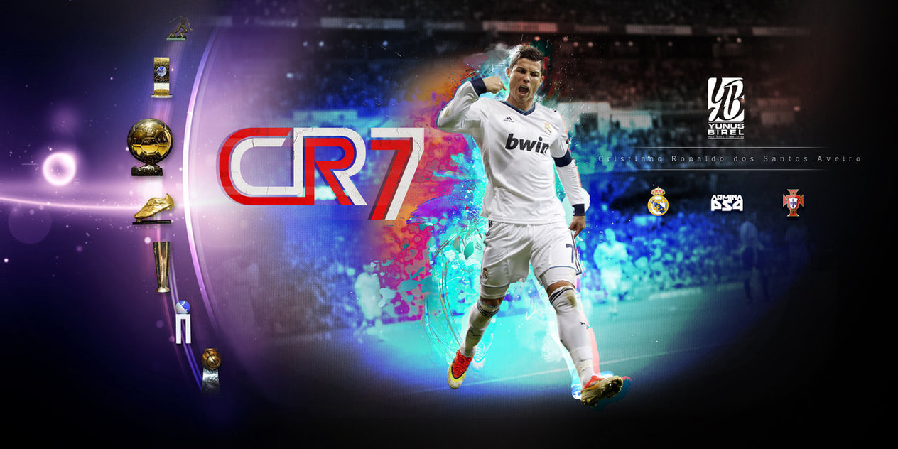 CR7 Wallpaper by YunusBirel 1264x632