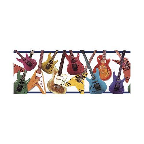 Guitar Border Wallpaper Guitars wallpaper border in 500x500