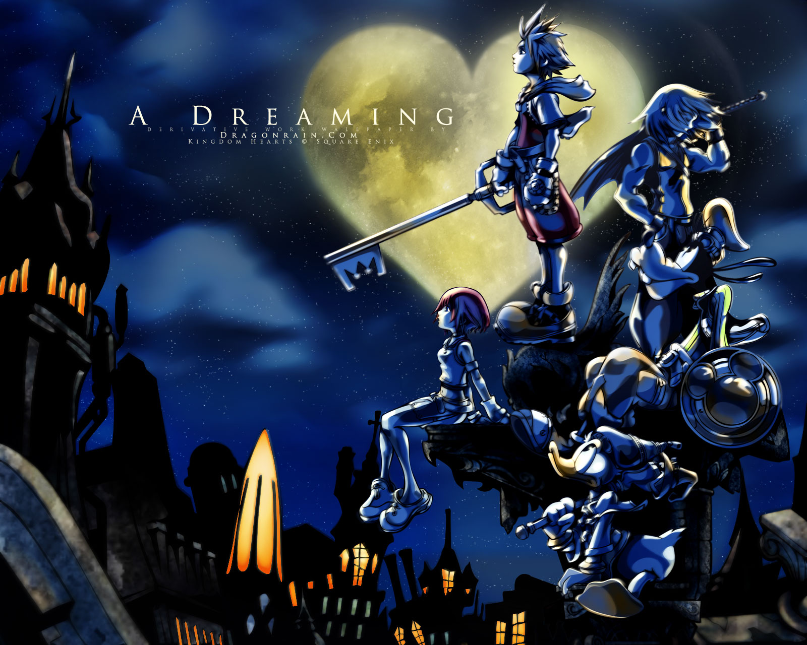Kingdom Hearts   Fandoms Wallpaper 31616011 1600x1280