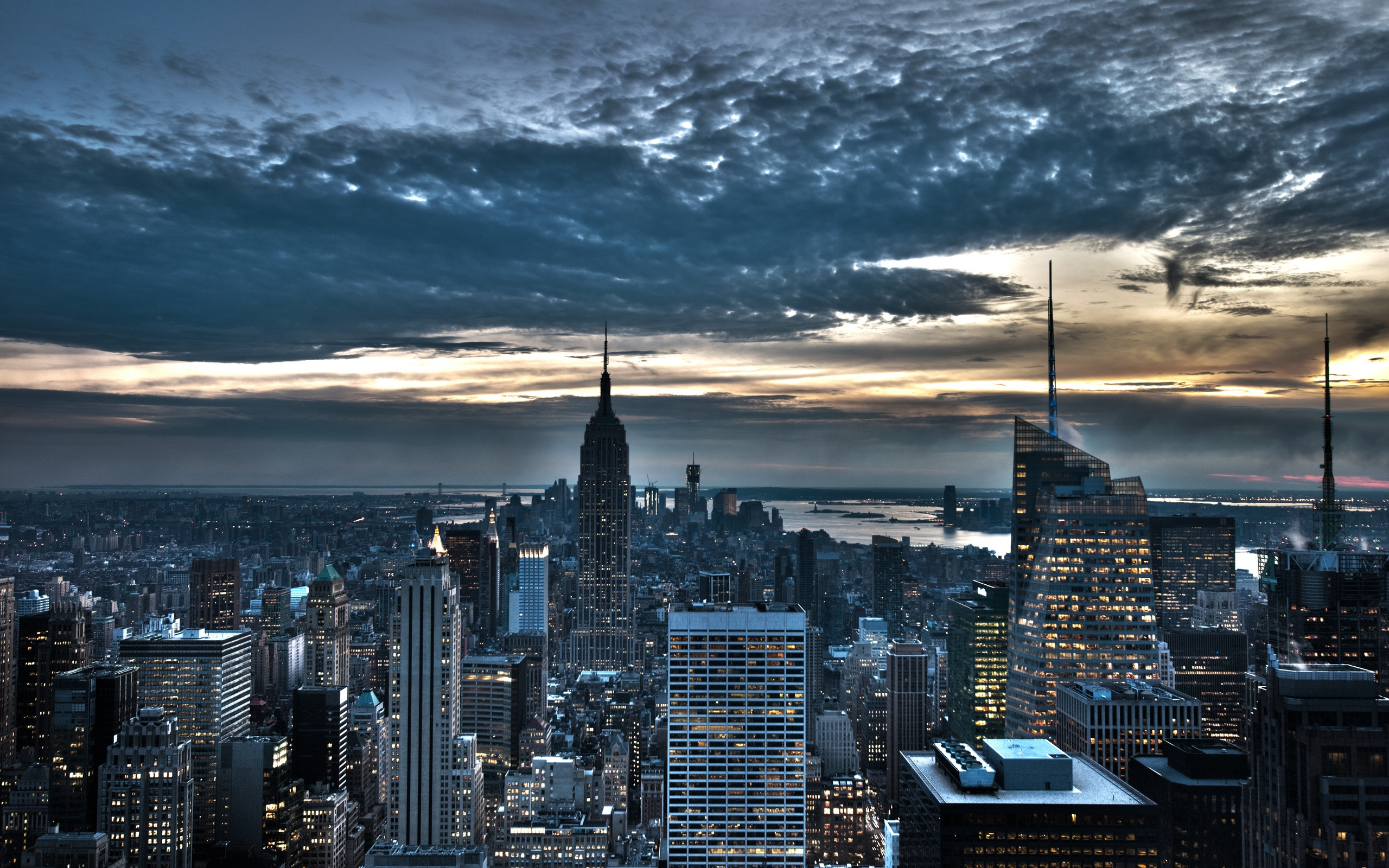 Empire State Building New York City Wallpapers   2560x1600   1542798 2560x1600