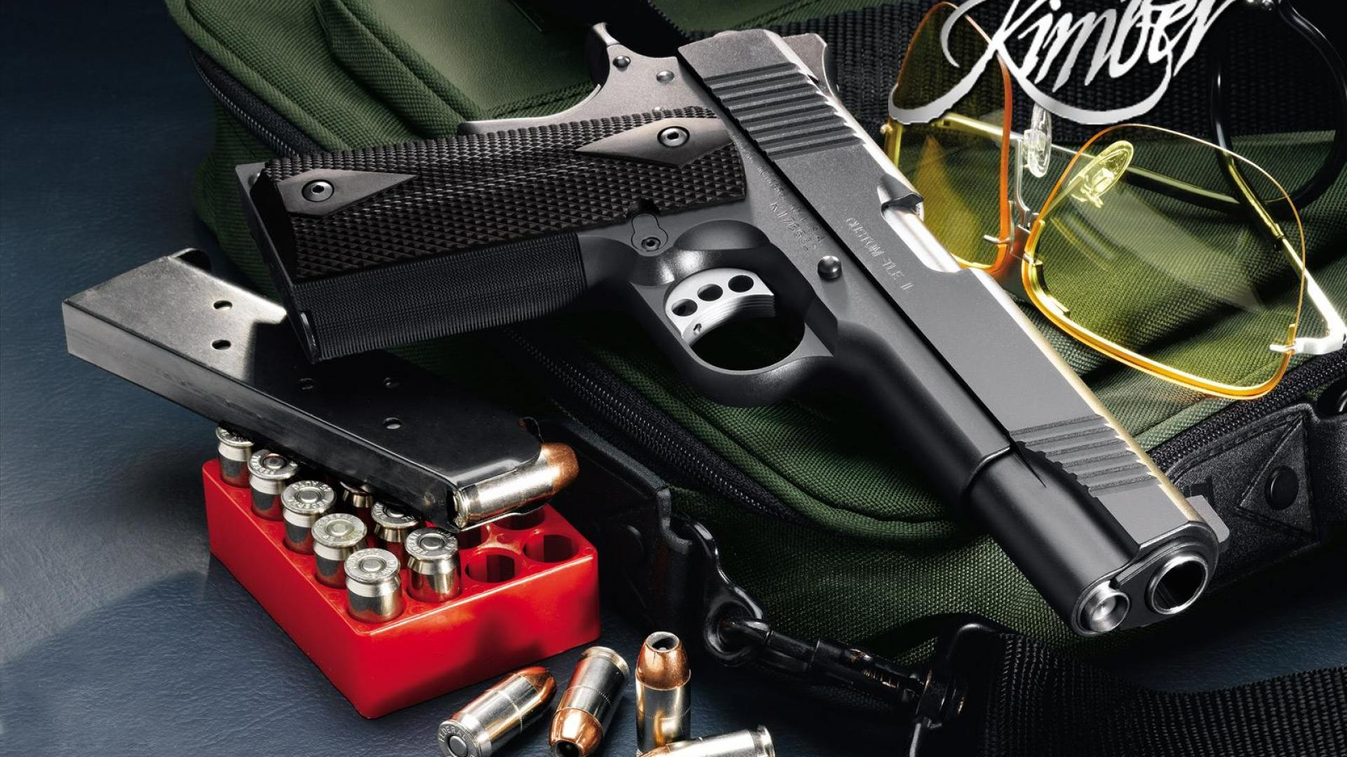 Kimber Pistols Wallpapers Pictures 1920x1080
