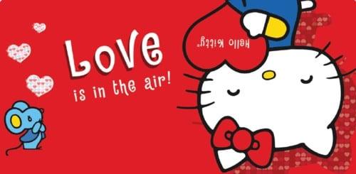 500x245px Hello Kitty Valentine S Day Wallpaper Wallpapersafari