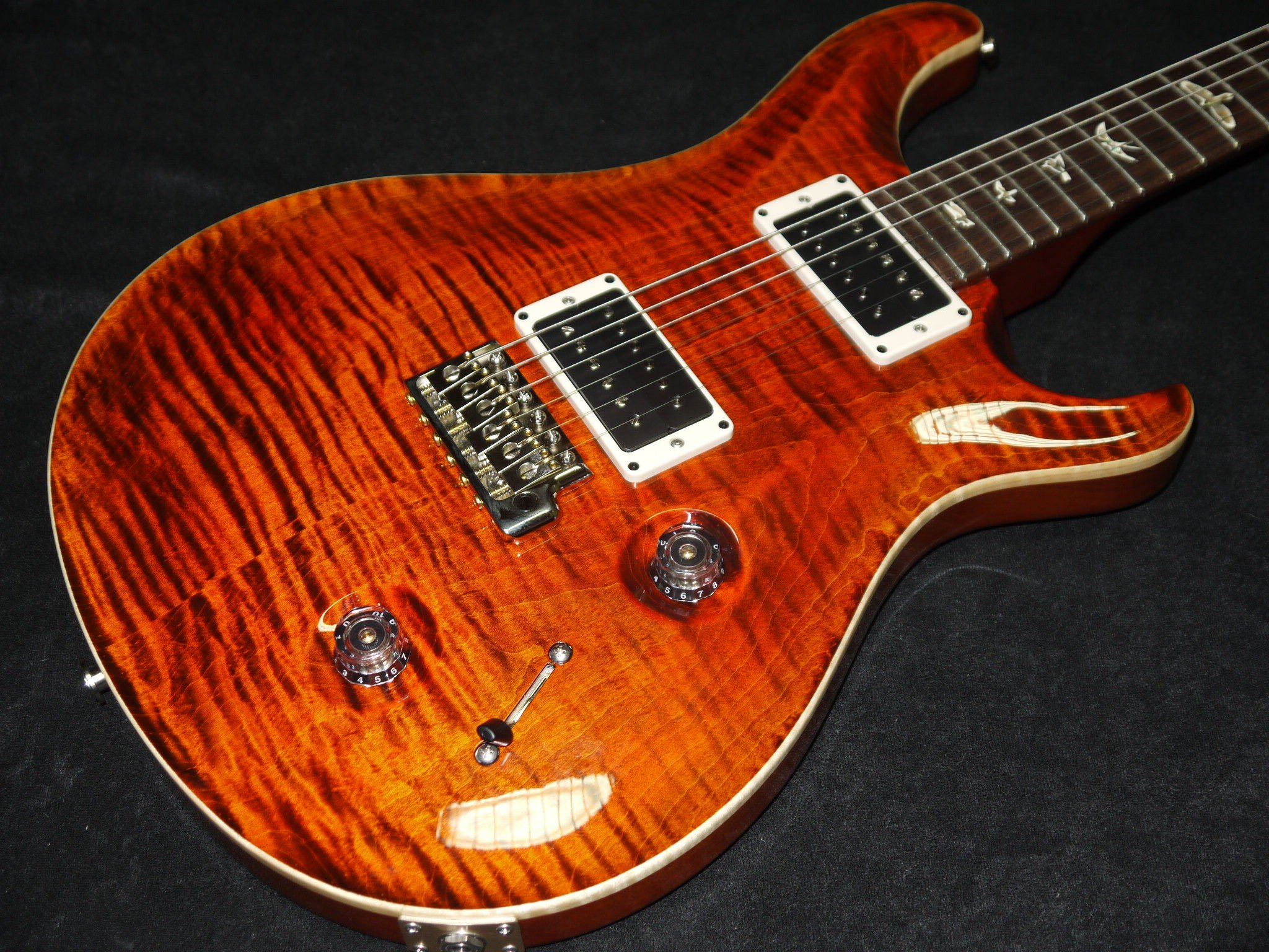 PRS Paul Reed Smith Custom 22 2010s Orange Tiger Guitar For Sale 2048x1536