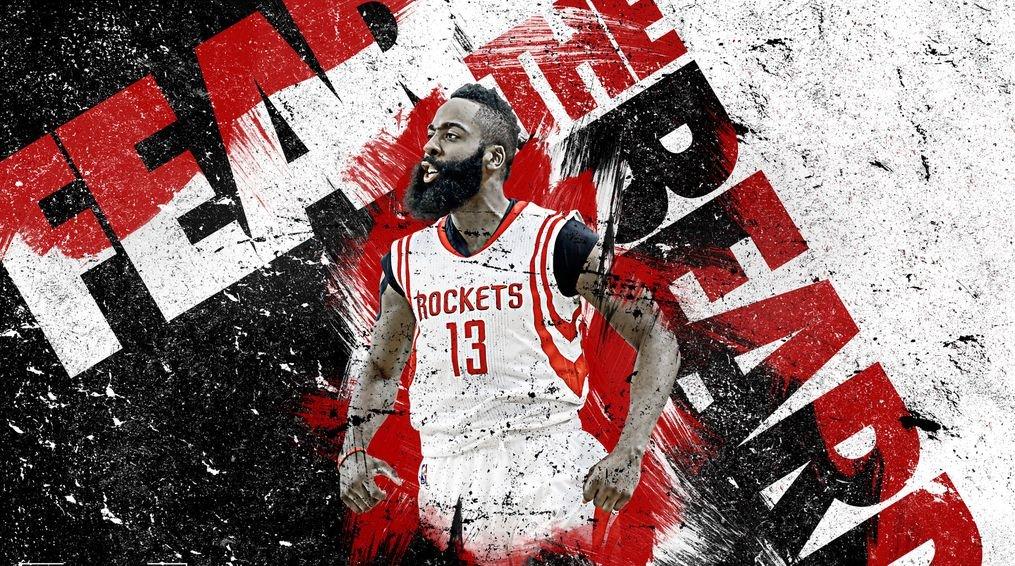 Amazoncom XXW Artwork James Harden Poster Basketball player 1015x566