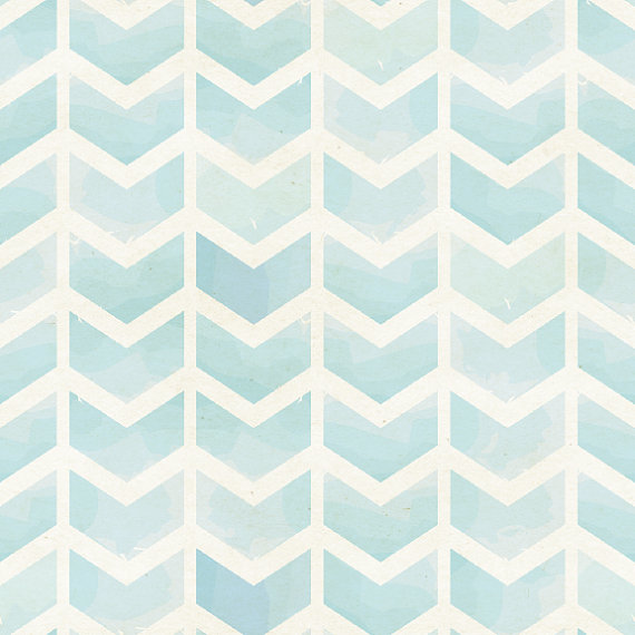Faded Blue Chevron Removable Wallpaper 8 Feet by WallsNeedLove 570x570