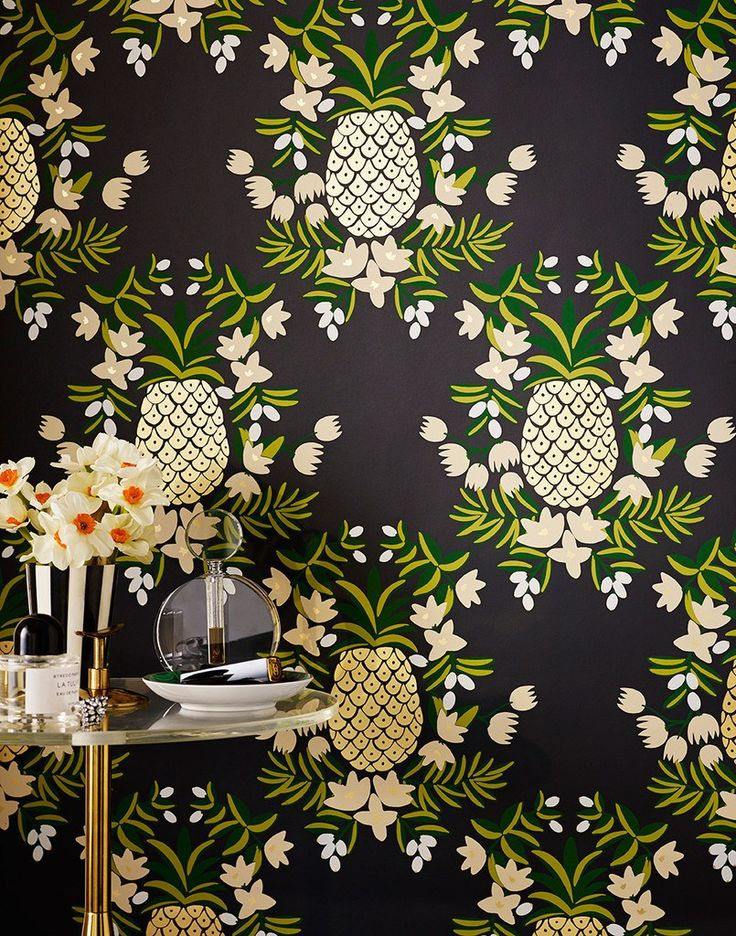 Rifle Paper Co wallpaper HomeDesign Pinterest 736x936